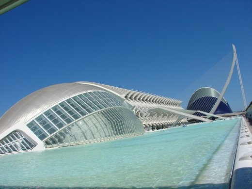 The Hemisphere in Valencia, another amazing building.
