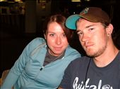 Us before we got on our flight. Last time you will see me with straight hair: by millmanapalm, Views[181]