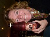 Karen and her L&P drink, very famous new zealand soft drink: by milou, Views[357]