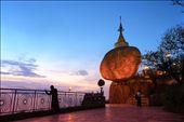 Kyeik Hti Yoe (Golden Rock Pagoda): by minnkhant, Views[238]