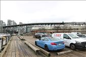 Some parking on Granville Island is on a dock!: by mirlingabroad, Views[76]