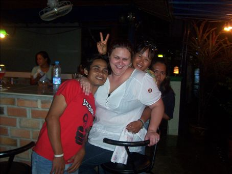 My Thai friends took me out drinking on my last night at Bangtao Beach,Phuket, Thailand. What a fun night!