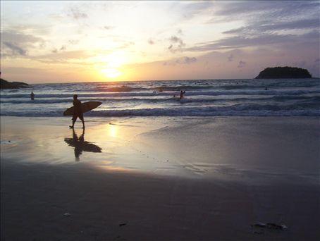 Kata Beach, Phuket, Thailand.