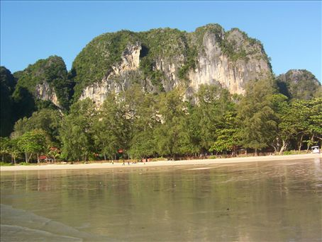 Leaving Railay Beach. I laid on this beach all day!