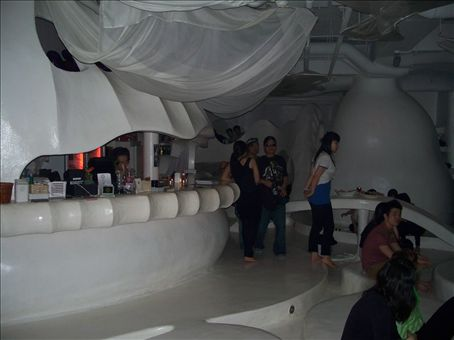 I took this shot hoping to show the bar area.