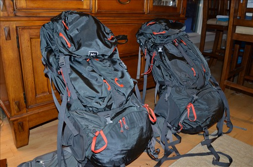 REI Bags - Packed LIGHT