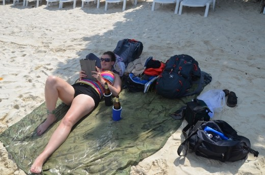 Waiting at the Beach