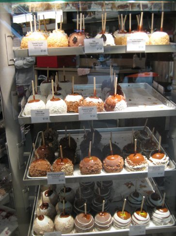 Candy apples of every variety!!!!