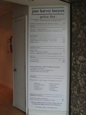 Look at the menu!