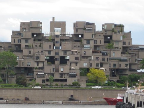 Habitat 67. Yes, people actually live there.