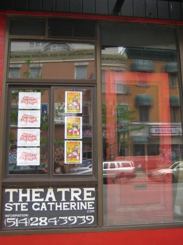Hilarious improv comedy in this theatre on sunday nights.