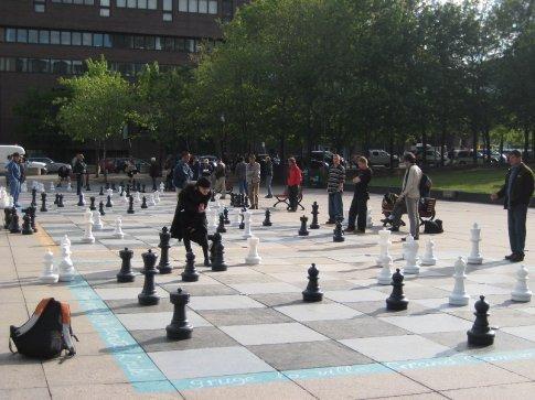 Chess in Quartier Latin