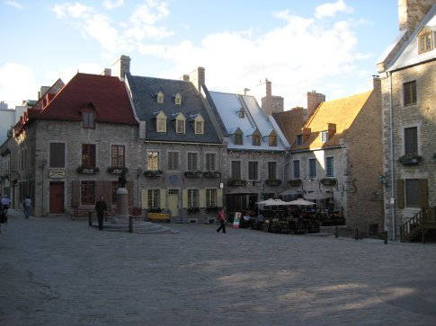 Everything in Old Town (within the walls of Quebec City) looks straight out of a classic fairytale.