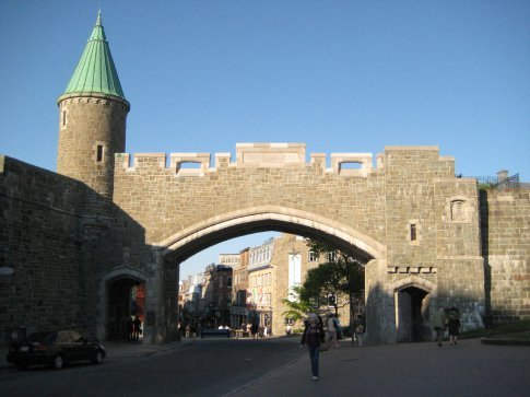 One of the entryways into Old Town.