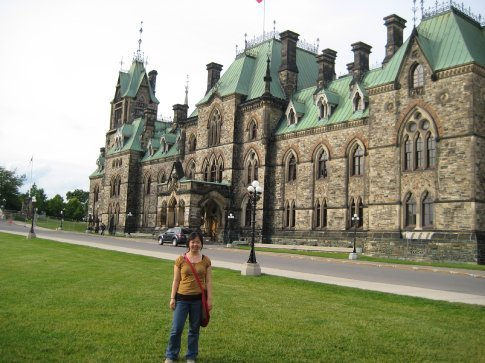 One of the parliament buildings