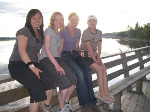 Me, Laura, Martina and Henny (Singaporean, Aussie, Swiss and Canadian)