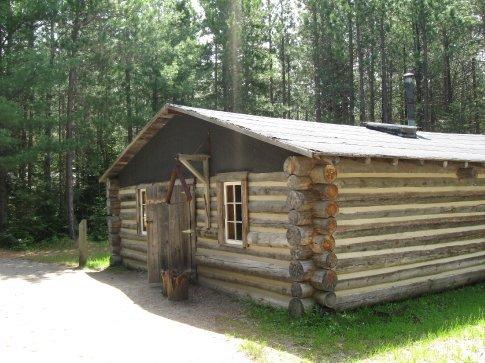 We toured the Logging Museum