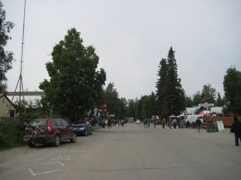 Um, yah, that's downtown Talkeetna. It's the starting point for those going to Denali.