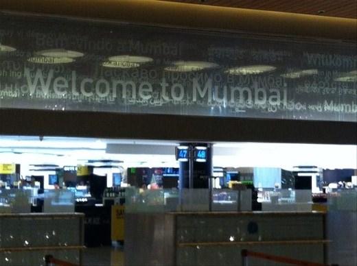 Welcome to Mumbai!  (At 3 am...)