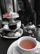 Tea Time: Two of my friends and I ventured to a traditional and classy
