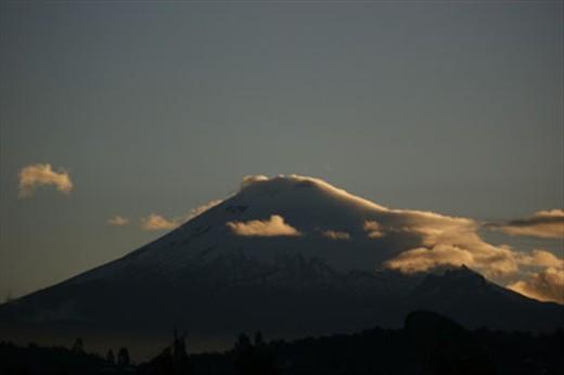 Volcán Cotopaxi en la mañana...