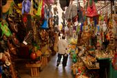 The market in Puerto Escondido is famous for its  shopping as well as fresh produce. There was so much to look at, it was a fiest for the eyes!: by mogli, Views[947]