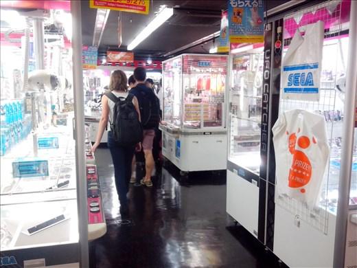 A shop full of slot machines.