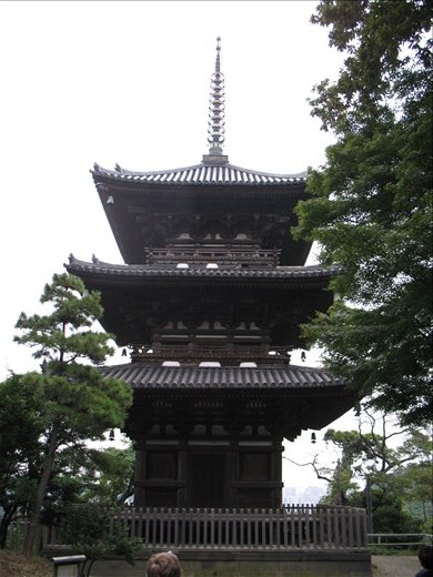 Three storeyed Pagoda