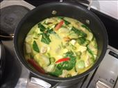 Thai green curry in progress: by monsoonka, Views[98]
