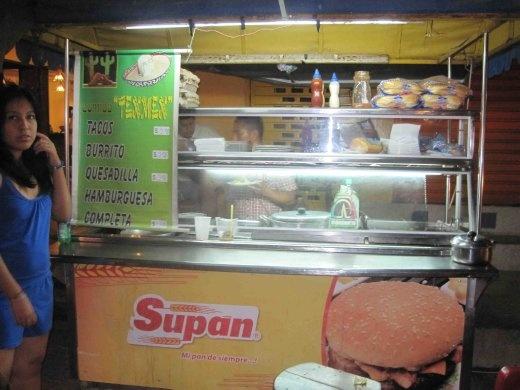 Montanita Burrito Stall
