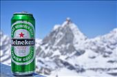 Relaxing on the top of the world with a cold one after a long day of skiing.: by moose17, Views[146]
