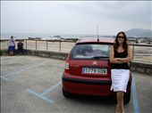 Tracey back at Noja beach 20 years later.  Who would have thought.: by morter_family, Views[455]