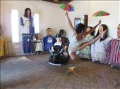 Frevo is a type of music and dance. My sister jumps with frevo umbrellas.: by mosaico, Views[84]