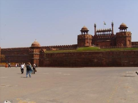 Red fort, Delhi. It's too big to photograph.