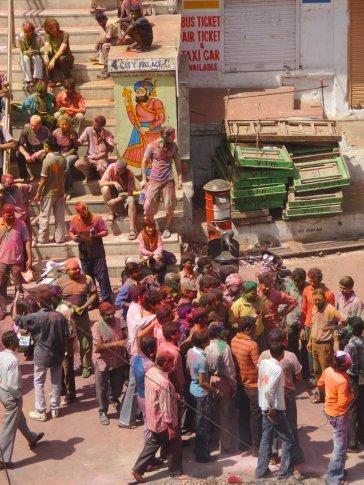 Holi celebration in Udaipur.