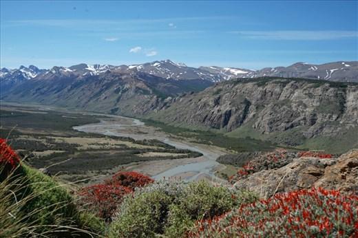 View from Rios de las Vueltas viewpoint