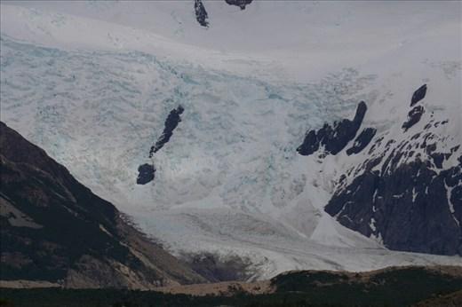 The mouth of the Grande Glacier