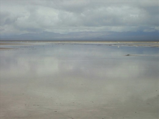 Not water but reflection off the salt at Salinas Grandes