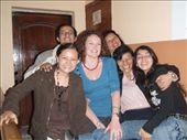 With some of my Quito students.  We had a party the last night where thevols demonstrated some of their talents and each class did a skit . . you´ll see our awesome fashion show in upcoming pictures: by mueller-san, Views[185]