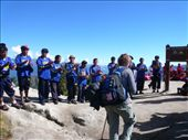 The porters lining up and applauding when the trekkers arrive at certain rest point - so funny.: by muimui2009, Views[161]