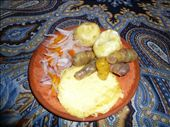 Main dish is fried cheese with some potatoes etc - also very good.: by muimui2009, Views[235]