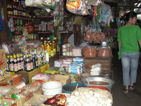Flea market...it smelled so bad!!!