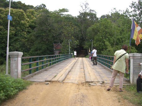 This is the bridge that was made possible by my great-aunt