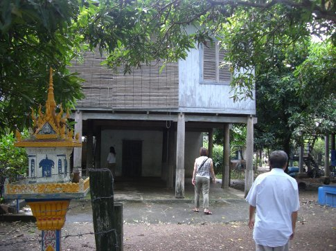 My 4th aunt's house...she lives in Phnom Penh now
