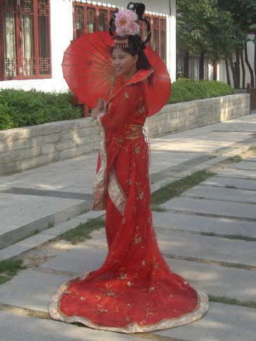 Don't I look like a real Chinese girl?!?! :)