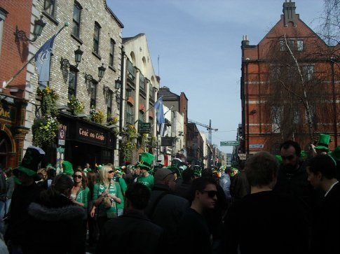 Temple Bar after the Parade