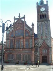 The City Hall in Derry that was bombed during the troubles: by murrihyk, Views[217]