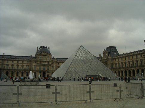 The Louvre the next day
