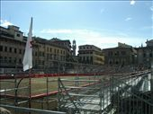 The Piazza santa croce transformed for the Grand final of the FLorentine Football match!: by murrihyk, Views[113]
