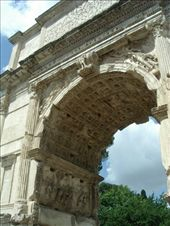 The Arch of Titus on Romes oldest st - leading from the Colosseum to the Forum: by murrihyk, Views[61]